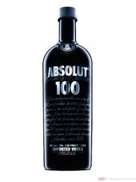 Absolut Wodka 100 Proof 50 % Vodka 1,0 l Flasche