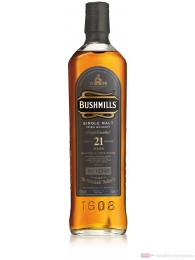 Bushmills 21 Jahre Single Malt Irish Whiskey 40% 0,7l Whisky Flasche