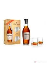 Camus VS mit 2 Gläsern