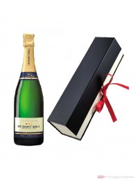 De Saint Gall Champagner Brut Tradition in Geschenkfaltschachtel