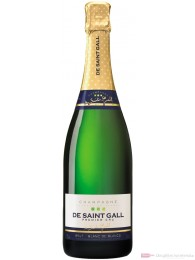 De Saint Gall Champagner Premier Cru Brut Blanc de Blanc 12 % 0,75 l. Flasche