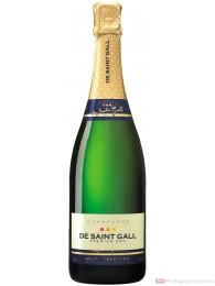 De Saint Gall Champagner Premier Cru Brut Tradition 12 % 0,75l Flasche