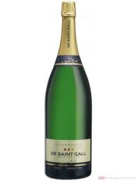 De Saint Gall Champagner Premier Cru Brut Tradition Jeroboam 12% 3,0l Flasche