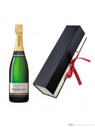 De Saint Gall Champagner Premier Cru Extra Brut Blanc de Blanc Geschenkfaltschachtel