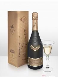 De Vilmont Brut Rosé Millésimé Cuvée Prestige 2003 Champagner 12 % 0,75 l Flasche