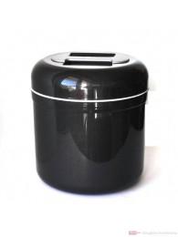 Eiswürfelbehälter Eisbox Eiswürfeleimer anthrazit