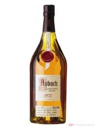Asbach Jahrgangsbrand 1972 Weinbrand Brandy 40% 0,7l Flasche