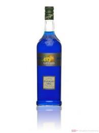 Giffard Sirup Blue Curacao 1,0 l Flasche