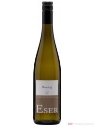 Hans Theo Eser Riesling Qba trocken Weißwein 2009 11,5% 1,0l Flasche