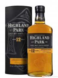 Highland Park 12 Jahre Orkney Single Pure Malt Scotch Whisky 40 % 0,7l Flasche