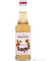 Le Sirop de Monin Amaretto Sirup 1:8 0,25l Flasche