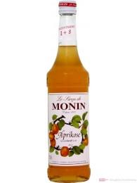 Le Sirop de Monin Aprikosen Sirup 1:8 0,7 l Flasche