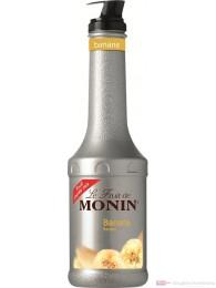 Le Sirop de Monin Fruchtpüree Banane 1,0l Flasche