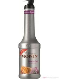 Le Sirop de Monin Fruchtpüree Passion 1,0l Flasche