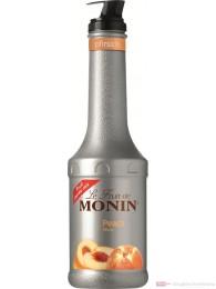 Le Sirop de Monin Fruchtpüree Pfirsich 1,0l Flasche
