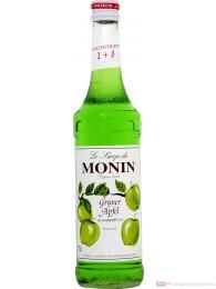 Le Sirop de Monin Grüner Apfel Sirup 1:8 0,7 l Flasche
