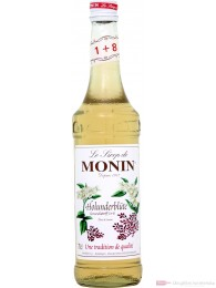 Le Sirop de Monin Holunderblüte Sirup 1:8 0,7l Flasche