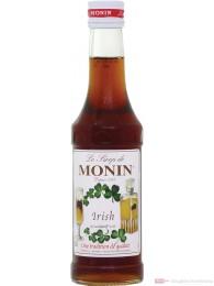 Le Sirop de Monin Irish Sirup 1:8 0,25l Flasche
