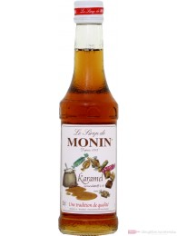 Le Sirop de Monin Karamel Sirup 1:8 0,25l Flasche