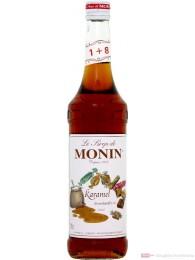 Le Sirop de Monin Karamel Sirup 1:8 0,7 l Caramel Flasche