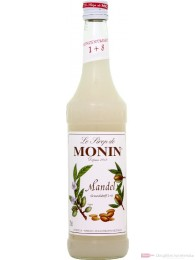 Le Sirop de Monin Mandel Sirup 1:8 0,7 l Flasche