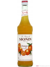 Le Sirop de Monin Orange Sirup 1:8 0,7 l Flasche