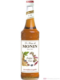 Le Sirop de Monin Praline Nuss Sirup 1:8 0,7 l Flasche