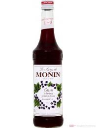 Le Sirop de Monin Schwarze Johannisbeere Sirup 1:8 0,7 l Flasche
