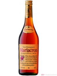 Mariacron Weinbrand 36% 0,35l Flasche