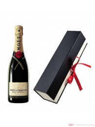 Moet & Chandon Brut Impérial Champagner in hochwertiger Geschenkfaltschachtel