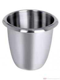 Contacto Sektkühler aus Edelstahl hochglänzend poliert mit Griffrand stapelbar schwere Qualität