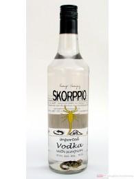 Skorppio Vodka 37,5% 0,7l Wodka Flasche