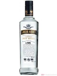 Smirnoff Wodka black Label No.55 40 % 1,0 l Flasche