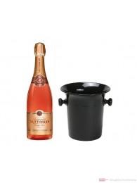 Taittinger Champagner Brut Prestige Rosé in Champagner Kübel 0,75l