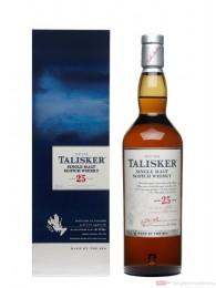 Talisker 25 Jahre Single Malt Scotch Whisky 0,7l