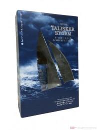 Talisker Storm in Geschenkverpackung mit 2 Gläsern 0,7l