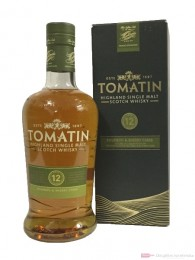 Tomatin 12 Years Speyside Single Malt Scotch Whisky 0,7l