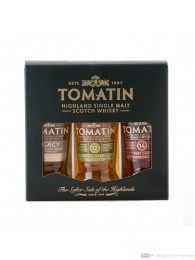 Tomatin Triple Pack Single Malt Scotch Whisky 3-0,05l Flasche