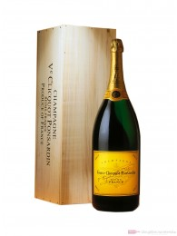 Veuve Clicquot Champagner Brut Jeroboam 12 % 3 l. in Holzkiste