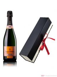 Veuve Clicquot Champagner Rosé Vintage Geschenkfaltschachtel
