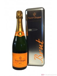 Veuve Clicquot Brut Champagner in Fridge