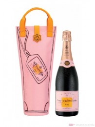 Veuve Clicquot Rose Shopping Bag