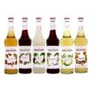 Monin Sirup 58 verschiedene Geschmäcker Flaschengrößen 0,25l 0,7l 1,0l