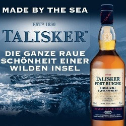 Talisker Port Ruighe Single Malt Scotch Whisky 45,8% 0,7l Flasche