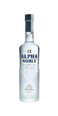 Alpha Noble Vodka