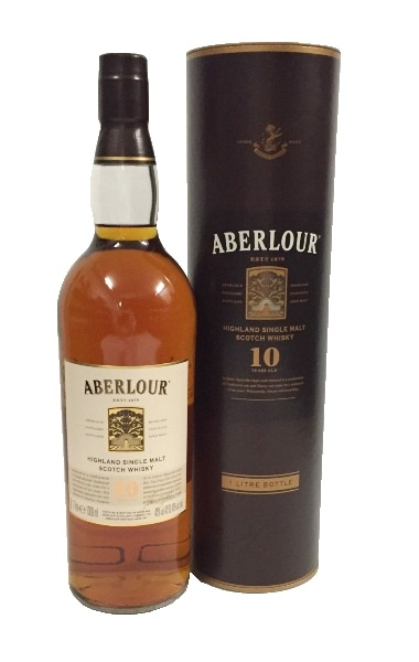 Single Malt Scotch Whisky 10j. der Marke Aberlour 40% 1,0l Flasche