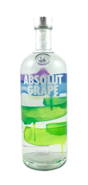 Wodka der Marke Absolut Gräpe 40% 1,0l Flasche