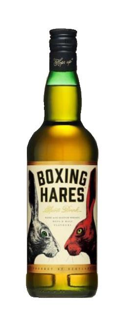 Spirit Drink der Marke Boxing Hares 35% 0,7l Flasche