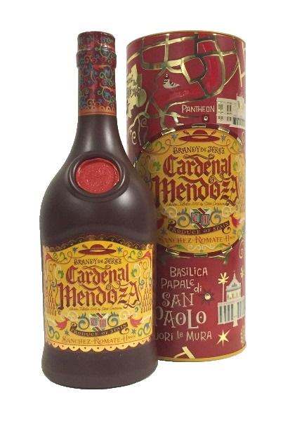 Brandy de Jerez der Marke Cardenal Mendoza 40% 0,7l Flasche