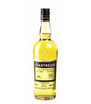 Likör der Marke Chartreuse gelb 40% 0,35l Flasche